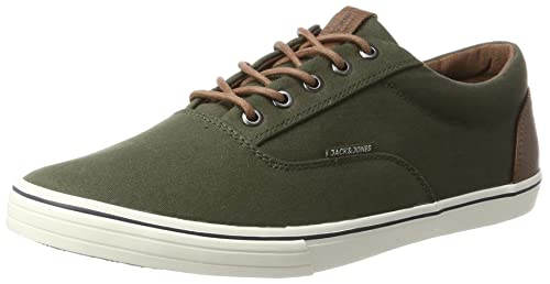 Jack & Jones Jfwvision Mixed, Zapatillas para Hombre, Verde (Forest Night), 45 EU