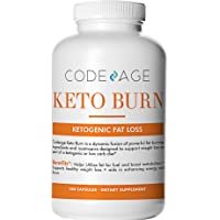 Code Age Keto Burn Capsules - 180 Count - Nootropic Supplement - Supports Healthy Weight Loss