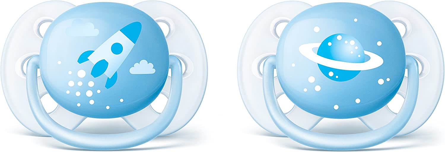 Philips AVENT SCF222/20 - Chupete (Ultra soft pacifier ...