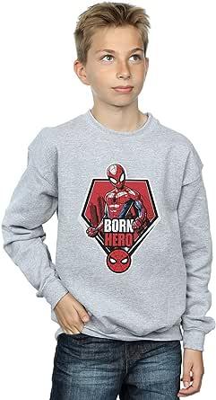 Marvel Niños Spider-Man Born Hero Camisa De Entrenamiento