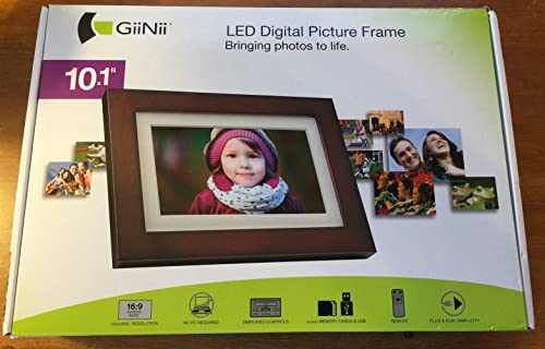 GIINII GHA13P 10.1 Digital Picture Frame