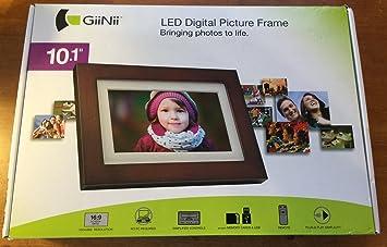 giinii 101 led digital picture frame