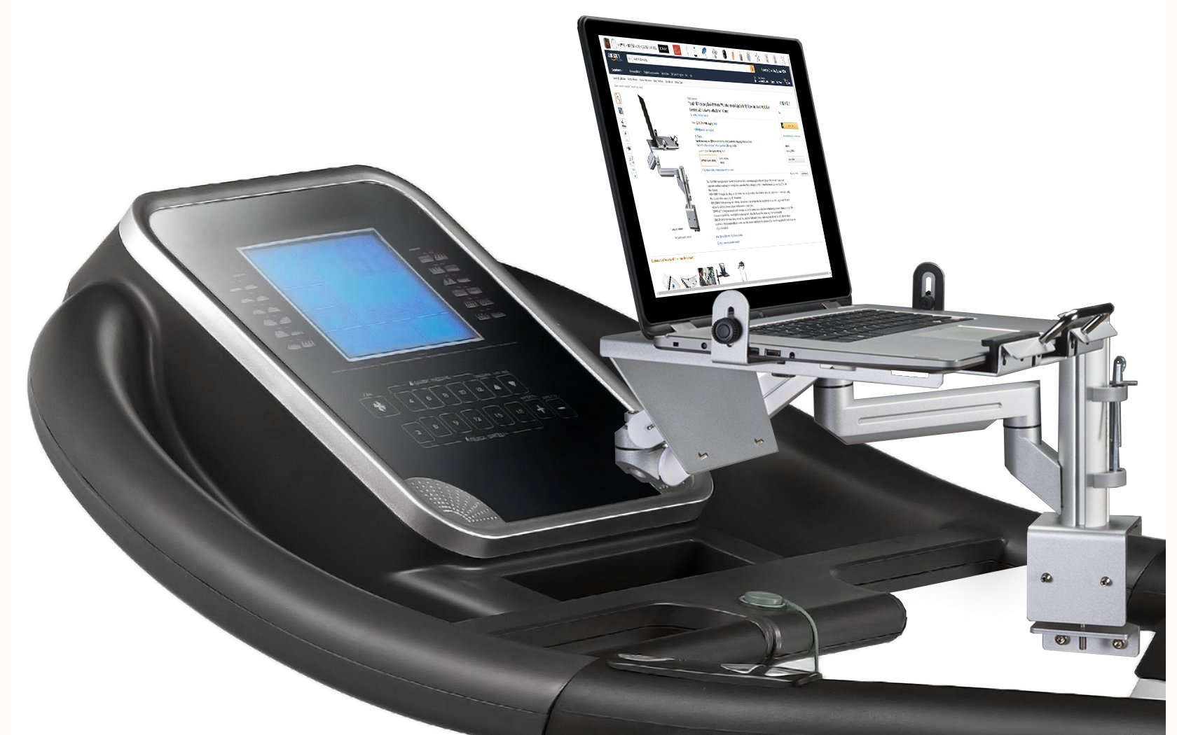 Alternative Treadmill Desk Workstation Accessory For Laptop iPad Tablet iPhone Book Walk Work or Run by Tread Experience