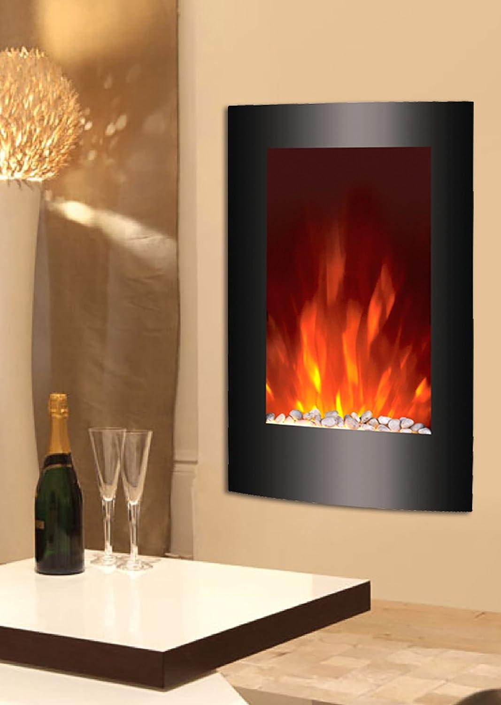 Caminetti elettrici ecco come unire design e calore ispiratevi - Caminetti elettrici a parete ...
