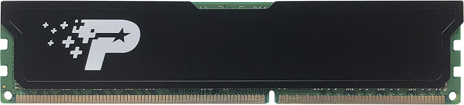 Patriot PSD38G16002H Signature 8GB DDR3 CL11 PC3-12800 1600MHz DIMM with Heatshield
