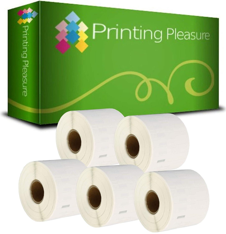 Printing Pleasure 20 20 20 x 99017 Rollen Etiketten kompatibel für Dymo LabelWriter & Seiko Etikettendrucker   50mm x 12mm   220 Stück   Hängeablageetiketten B0172ACIIM | Deutschland München  18401d