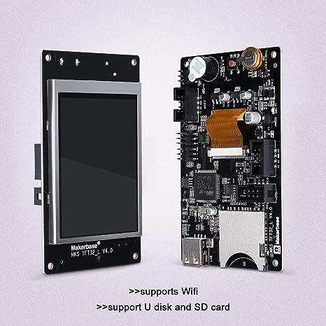 KingPrint - Placa controladora para impresoras 3D MKS TFT32 de 3,2 ...
