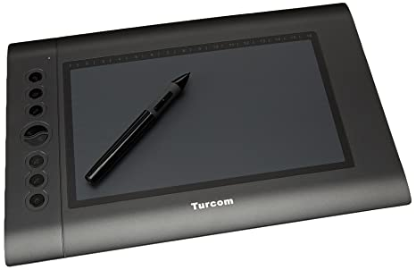 Turcom TS-6610 Graphic Tablet Drawing Tablets and Pen/Stylus for PC Mac  Computer, 10 x 6 25 Inches Surface Area 2048 Levels of Pressure Sensitive