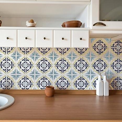 Stencil piastrelle cucina awesome stencil piastrelle - Stencil adesivi per mobili ...