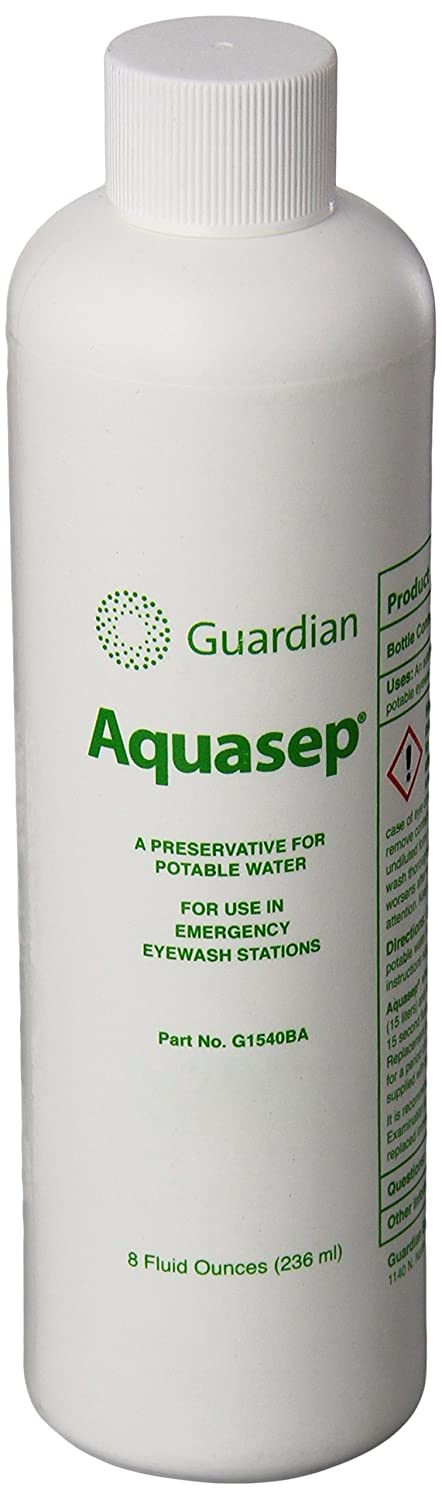 Guardian G1540BA Eyewash Additive for Aquaguard Gravity-Flow Portable Eyewash, 8 oz.