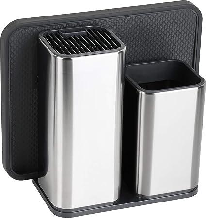 TOPHOME Juego de cubiertos de Cubiertos de cocina Cubiertos de mesa Organizador de carrito de mesa Utensilio de almacenamiento Cubo de secado Cubo de cocina Compartimento de cocina Compartidor de: Amazon.es: Hogar