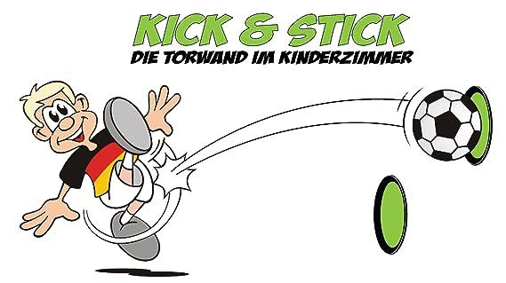 Kick & Stick - die Torwand für das Kinderzimmer   Endlich, die erste ...