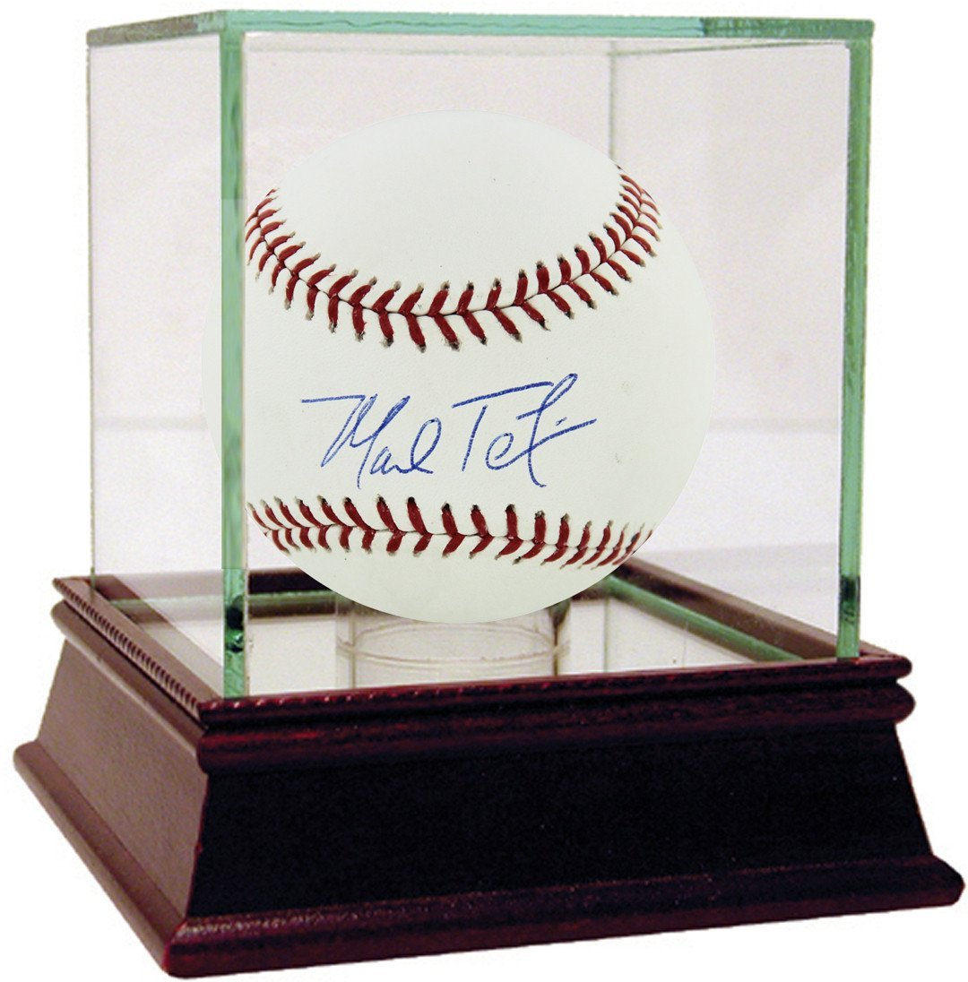 Mark Teixeira Signed MLB Baseball Steiner Sports