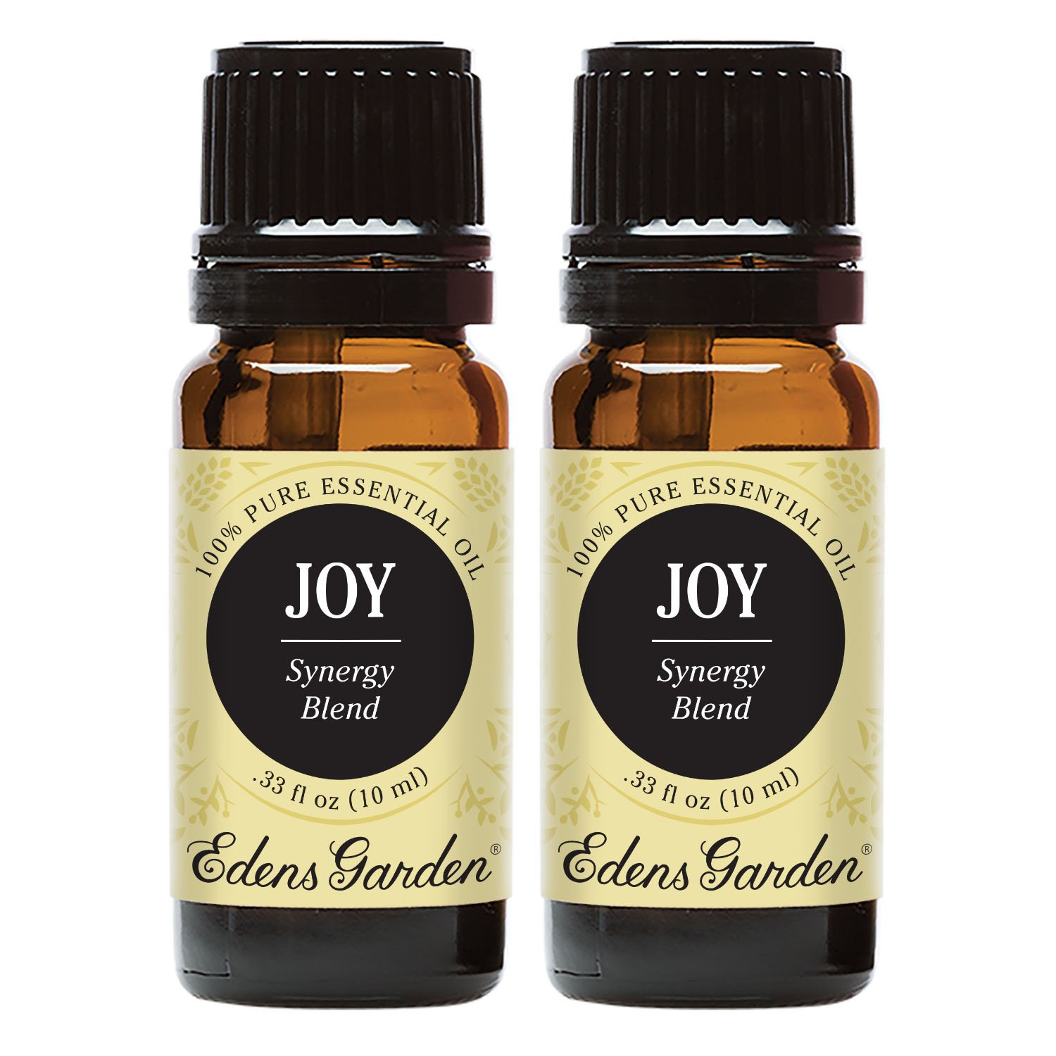 Edens Garden Joy Essential Oil Synergy Blend, 100% Pure Therapeutic Grade (Energy & Stress) 10 ml Value Pack