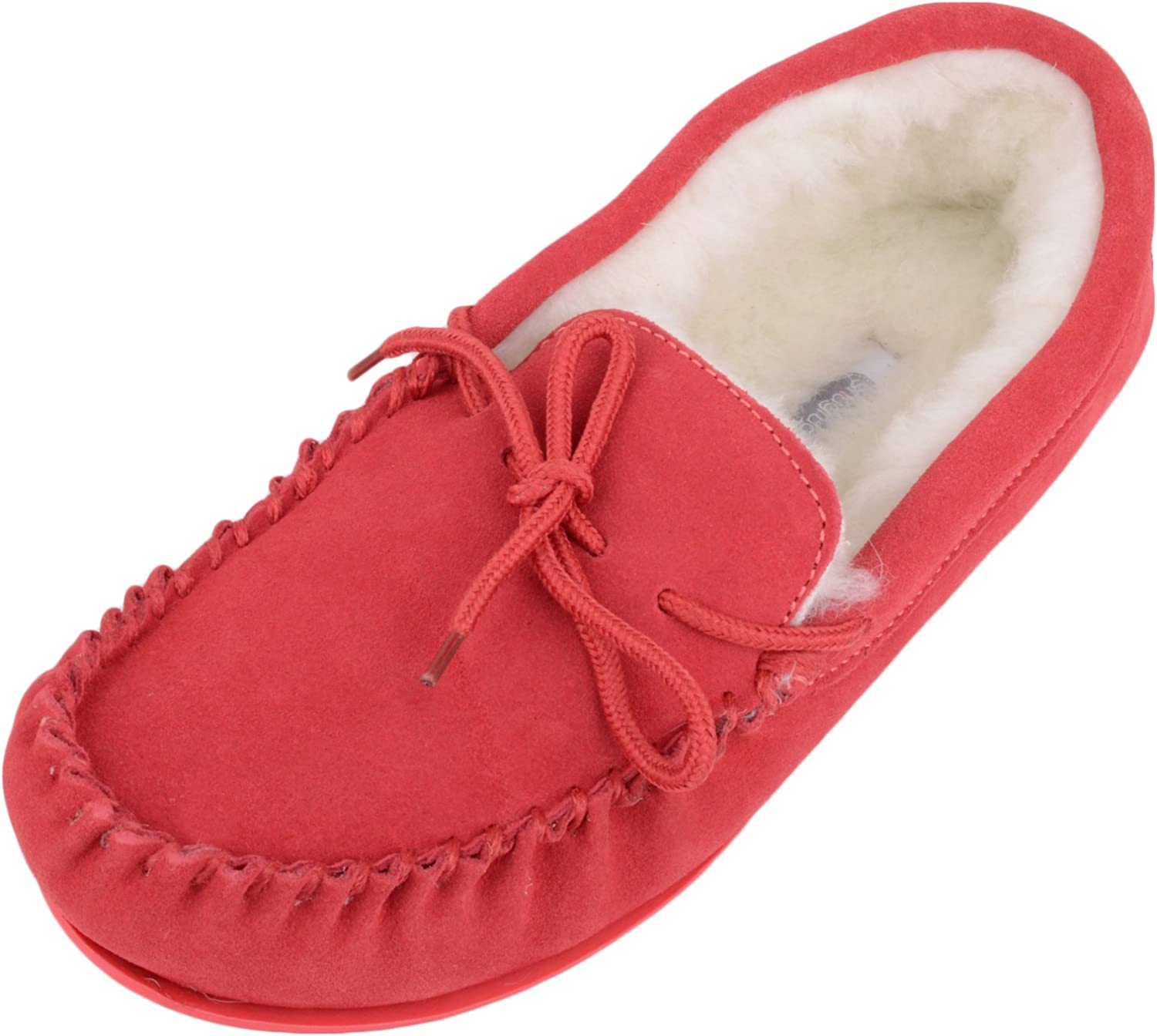 Top Lambswool Moccasin Slippers