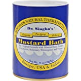 Dr. Singhas Mustard Bath - Helpful with Stress - Muscle and Joint Soreness - 8 oz