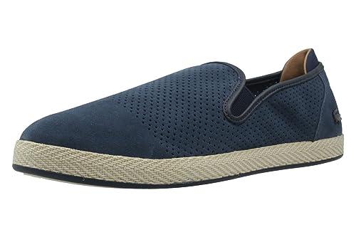 Lacoste Tombre 117 1 - Zapatillas de Deporte de Ante Hombre, azul (azul), 39.5: Amazon.es: Zapatos y complementos
