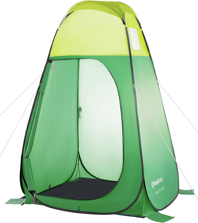 KingCamp Duschzelt Pop-Up Umkleidezelt Toilettenzelt Multifunktions-Zelt f/ür Camping Wandern Reisen Klettern Strand Picknick Lagerung 47,2 /× 47,2 /× 74,8 Zoll 120 /× 120 /× 190 cm