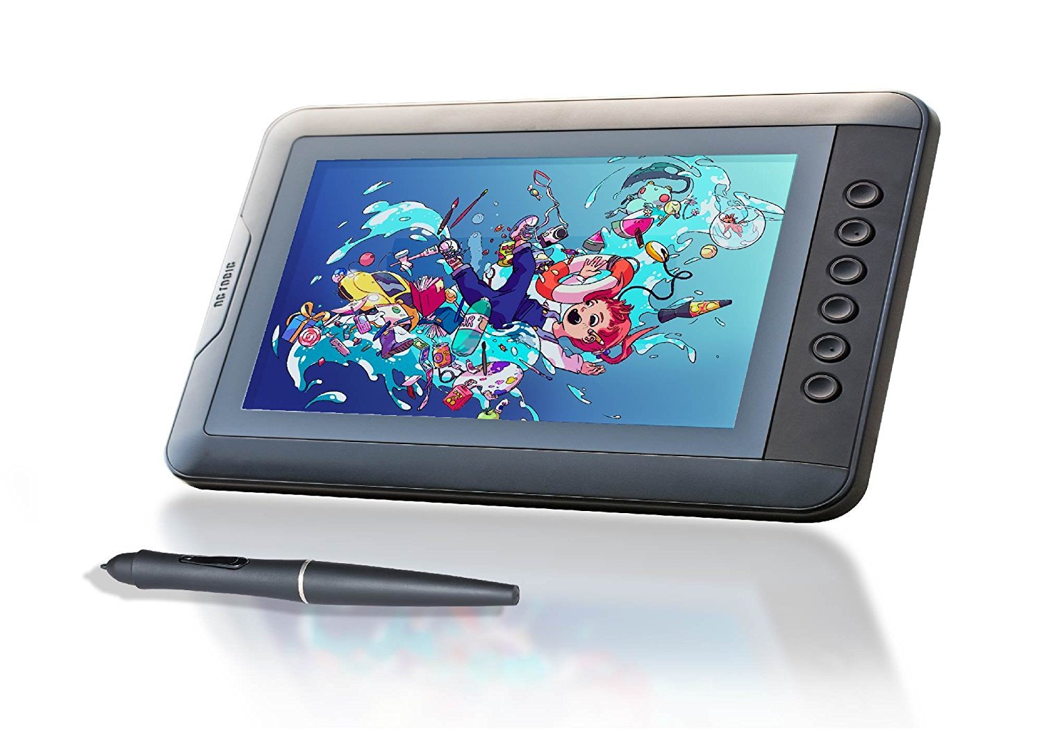 "POSRUS Antiglare Touch Screen Protector for Artisul D10-10.1"" LCD Pen Display Drawing Tablet"
