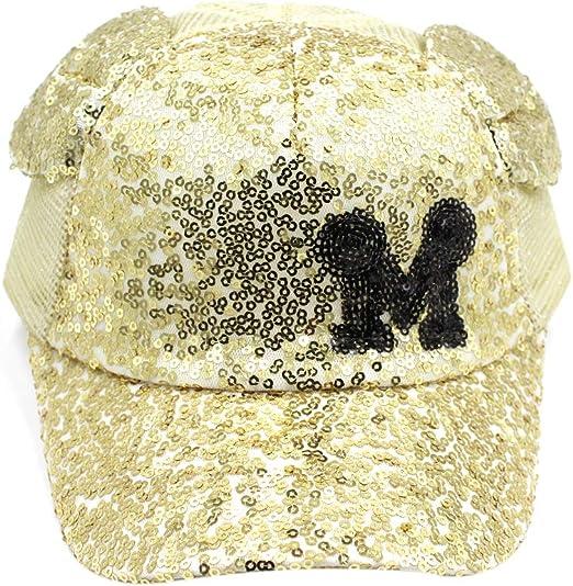 2020 Baby Girls Bow Sequins Mesh Baseball Cap Kids Chirldren Summer Soft Sun Hat