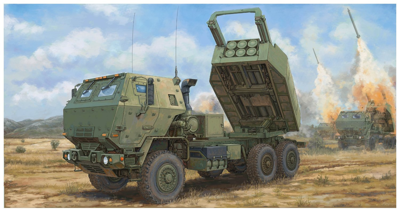 トランペッター 1/35 アメリカ軍 M142 ハイマース 高機動ロケット砲システム プラモデル 01041 B079VPH6YV
