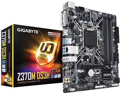 Gigabyte Z370M DS3H (LGA1151/ Intel Z370/ Micro ATX/ USB3 1 Gen1/ M 2/  DDR4/ HDMI/Motherboard)