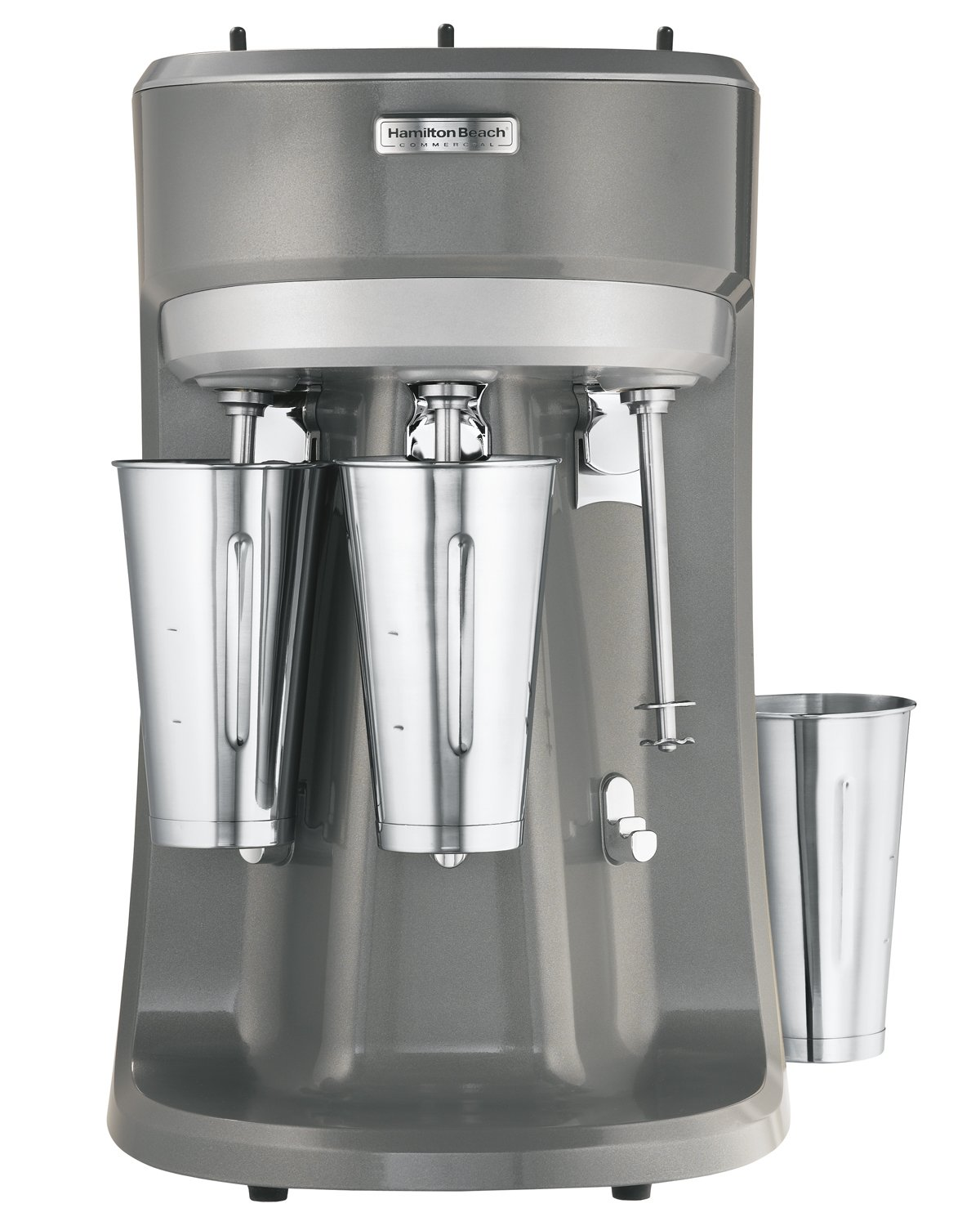 Image of Home and Kitchen Hamilton Beach HMD400 120V Triple Spindle Commercial Drink Mixer