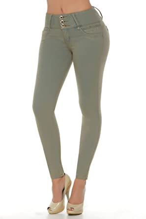 434f3a3e96 Image Unavailable. Image not available for. Color  VEROX JEANS Pantalones  Colombianos Levanta Cola Colombian Jeans Levantacola 3002