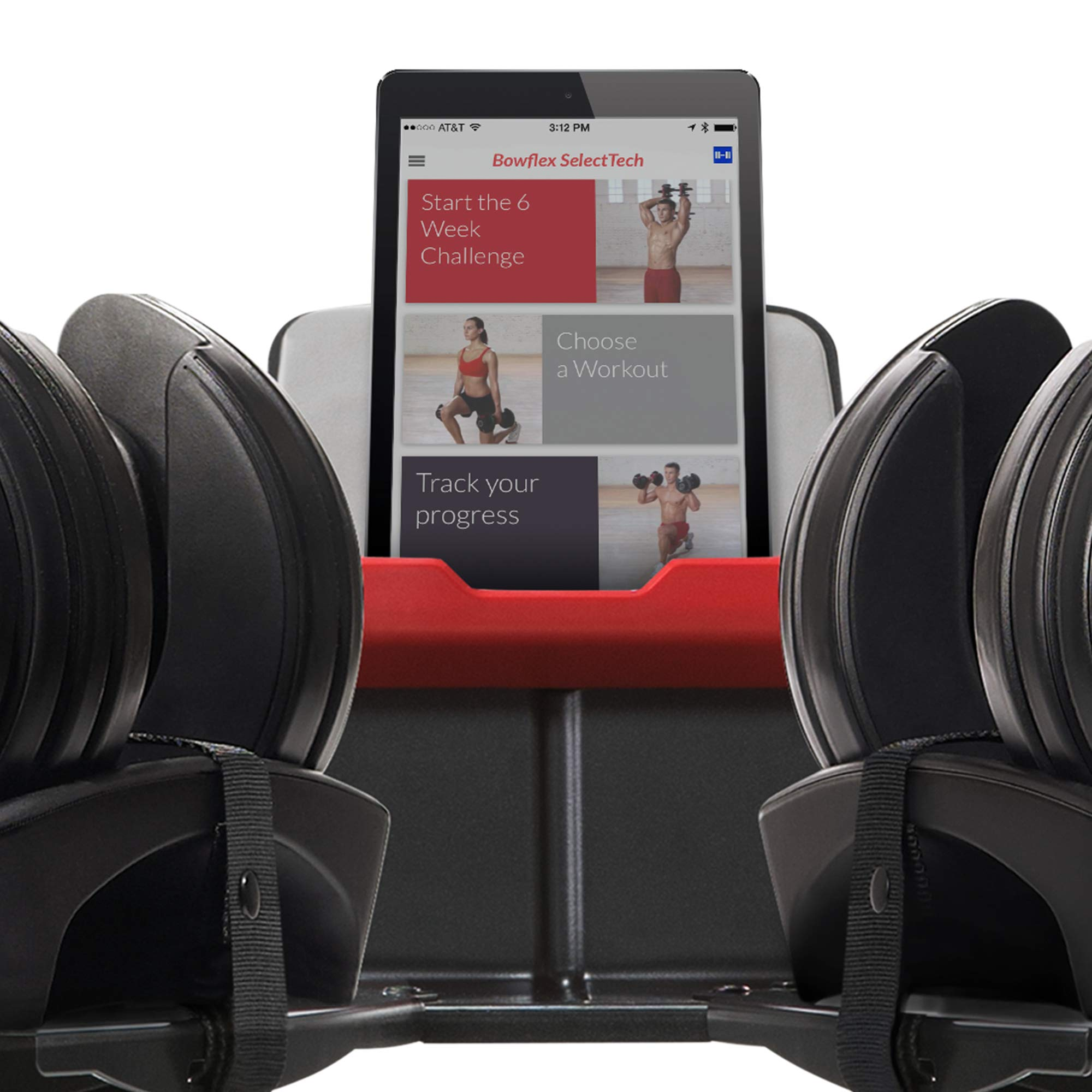 Bowflex SelectTech Dumbbell Stand with Media Rack by Bowflex