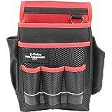 E-Value 腰袋 ホルダー付き ブラック&レッド 約幅230X奥行き130X高さ240mm EDK-3D RD