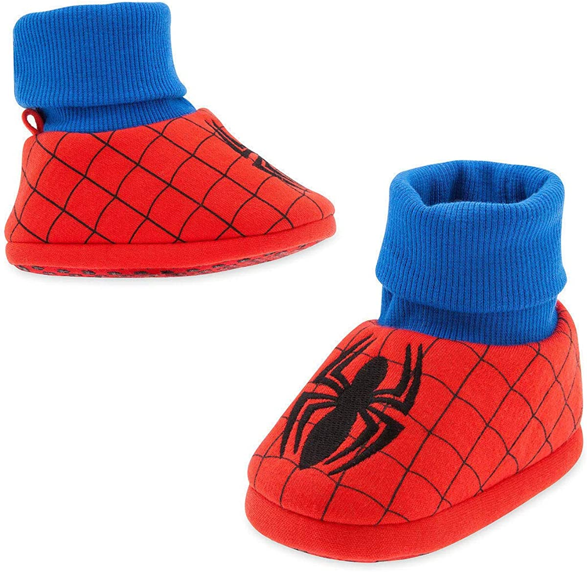18-24M Red Spider Man Baby Costume Boys Soft Slippers Disney