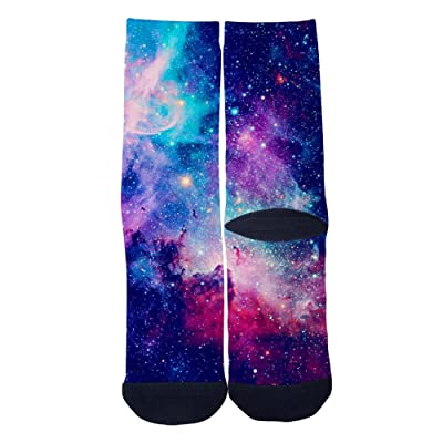 TheFun-Z Custom Running Socks Novelty Funny Cartoon Crew Socks Elite Casual Socks