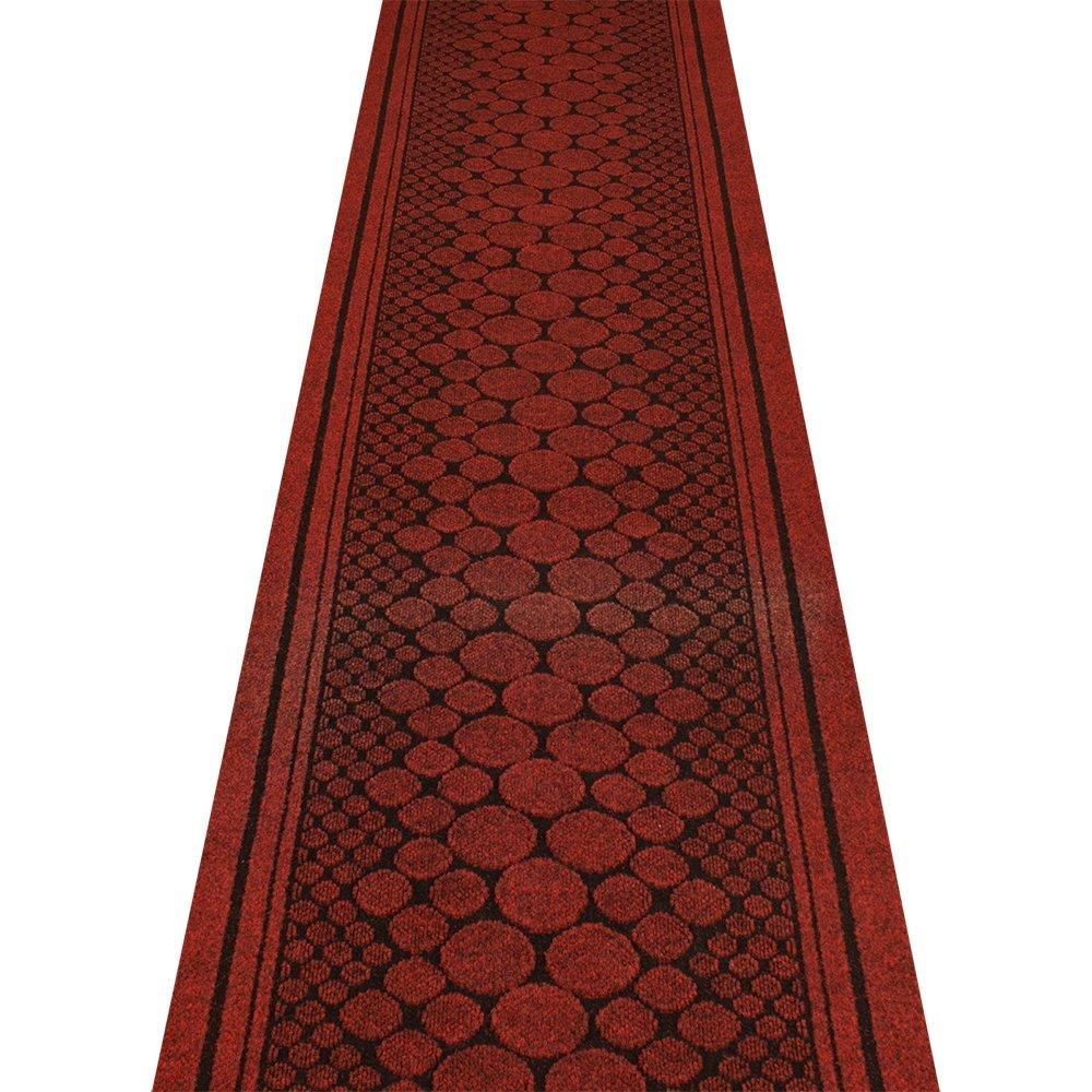 Cork Red - Long Hall & Stair Carpet Runner Carpet Runners UK