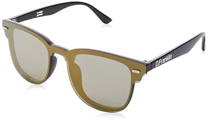 D. Franklin Orion II, Gafas de Sol Unisex adulto, Dorado, 40
