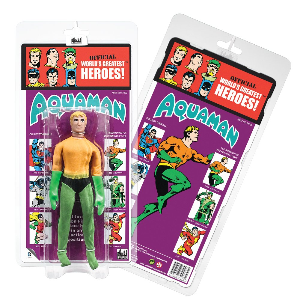DC Comics Retro Kresge Style Action Figures Series 2: Aquaman by Figures Toy Company
