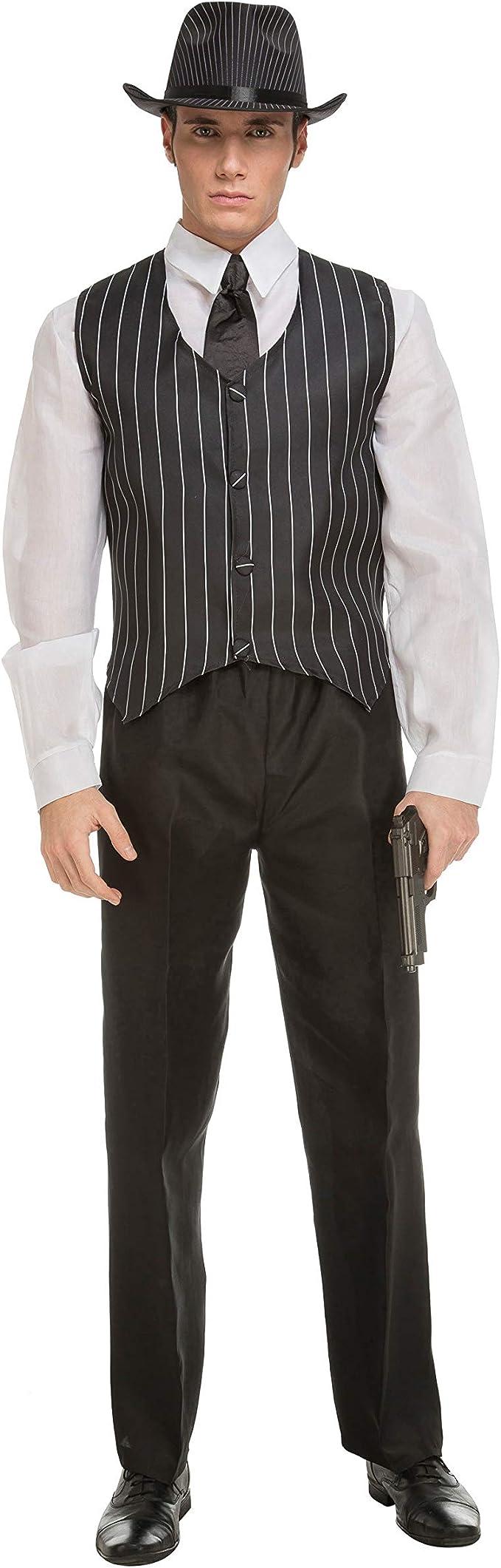 My Other Me Me-201705 Mafiosos Disfraz de gangster para hombre ...