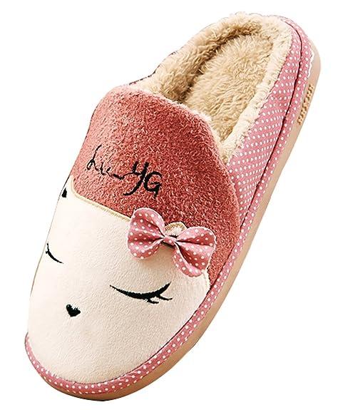 blubi - Zapatillas de casa de diseño de Gatos Forro cálido Dormitorio Zapatillas: Amazon.es: Zapatos y complementos