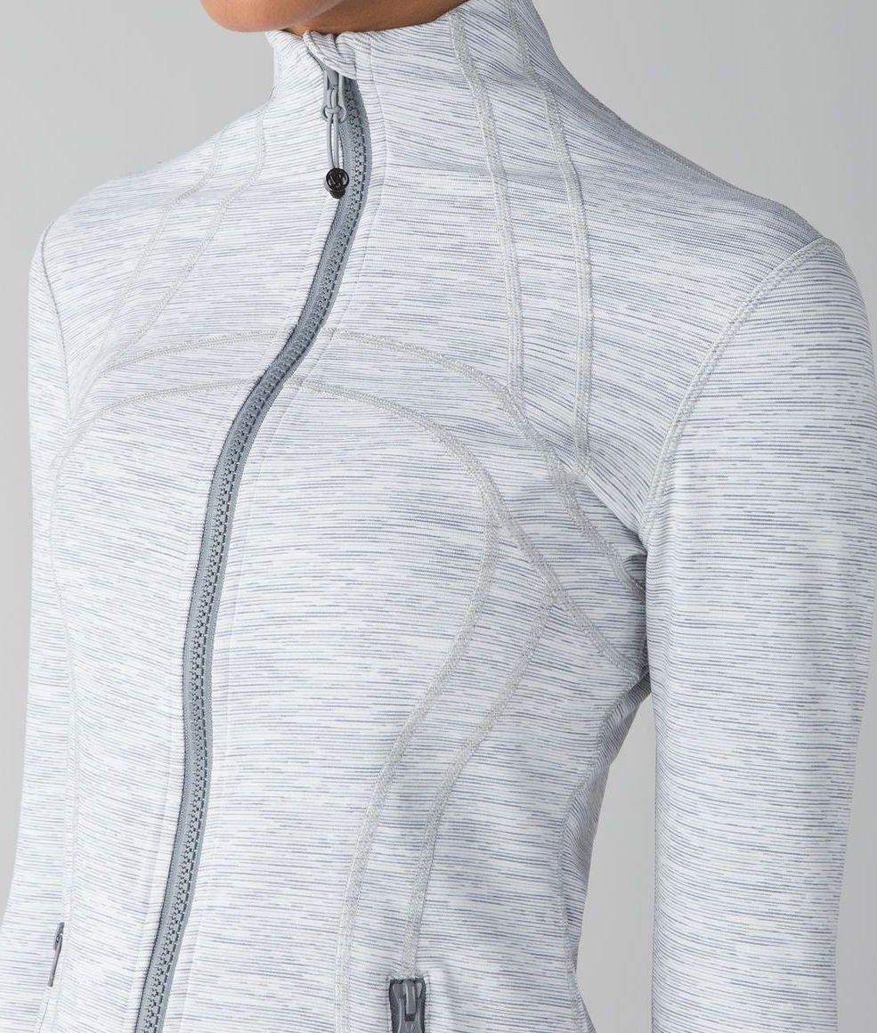 Lululemon Define Jacket (4, Wee Are From Space Ice Grey Alpine White) by Lululemon (Image #3)
