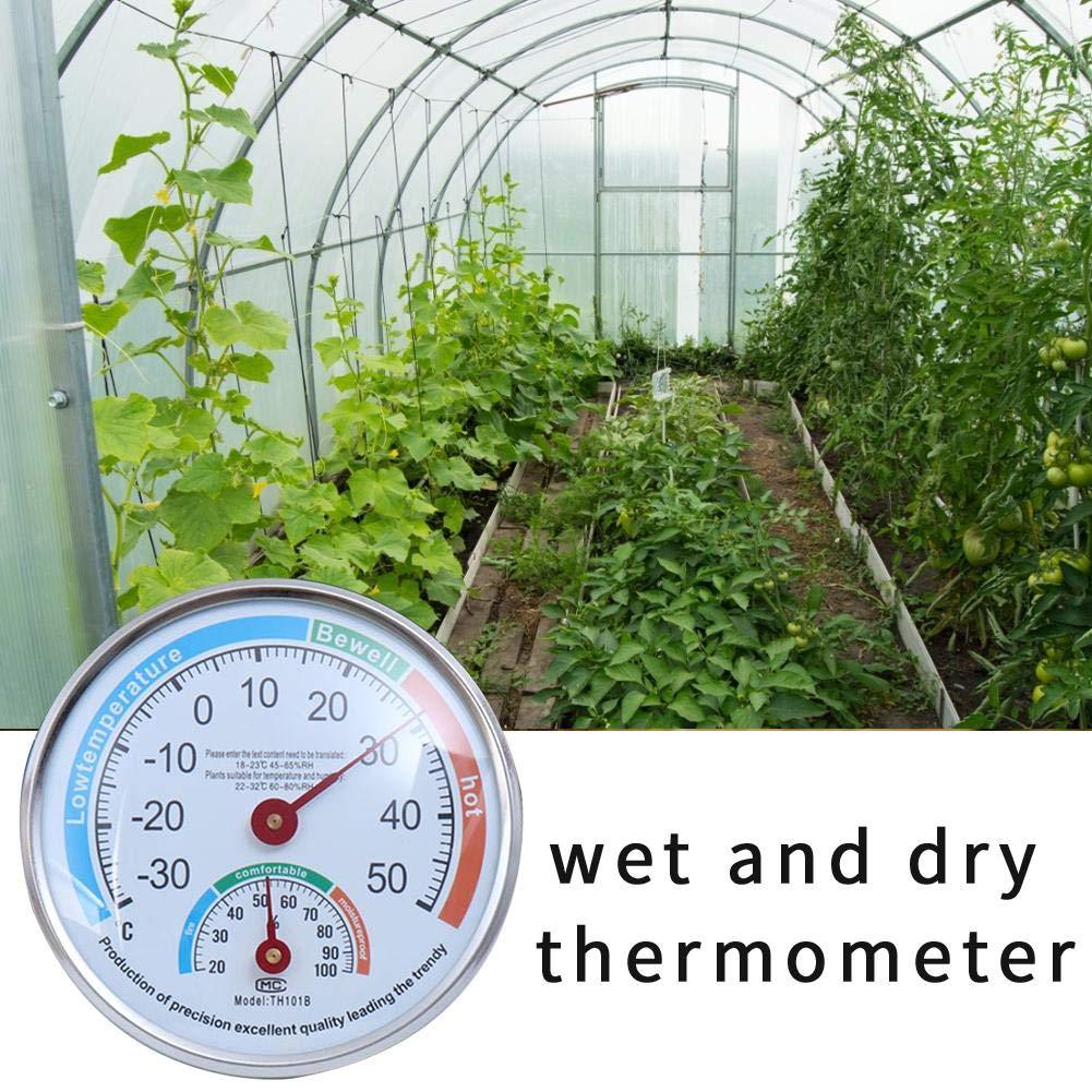 ad Alta precisione per la Temperatura Ambiente e lumidit/à dellAria igrometro D.ragon con apposito misuratore di umidit/à dellAria da Montare alla Parete Termometro Digitale per Interni