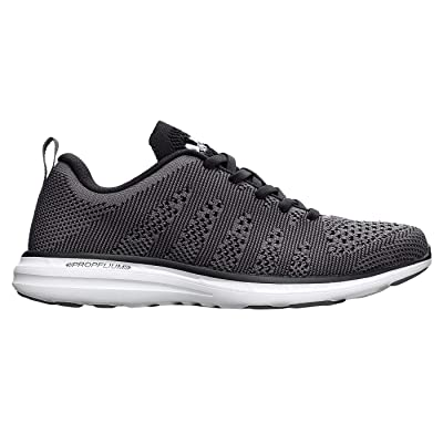 APL: Athletic Propulsion Labs Men's Techloom Pro Running Sneakers, Smoke/Black/White, 13 D(M) US | Road Running
