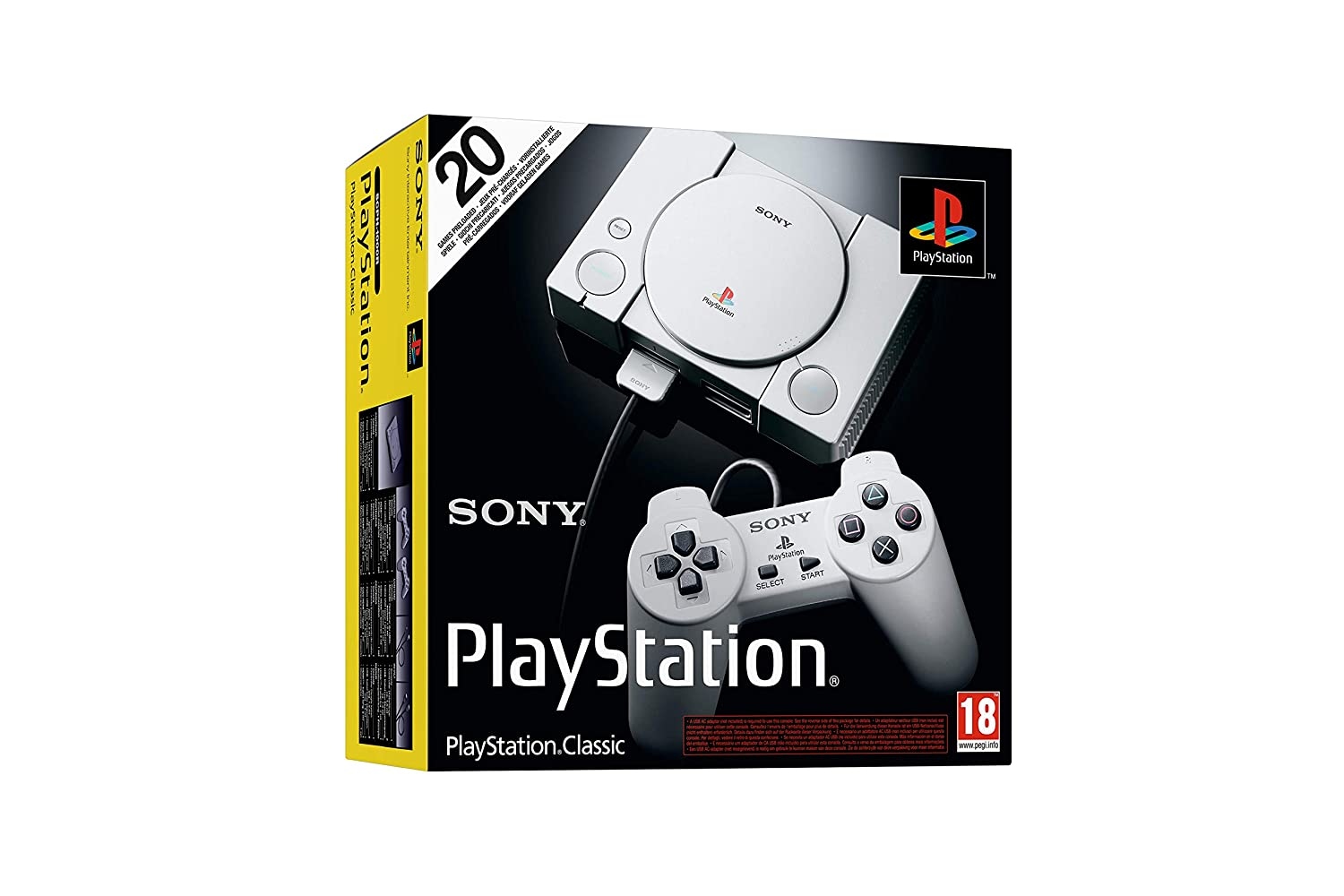 Sony PlayStation Classic Console: Amazon co uk: PC & Video Games
