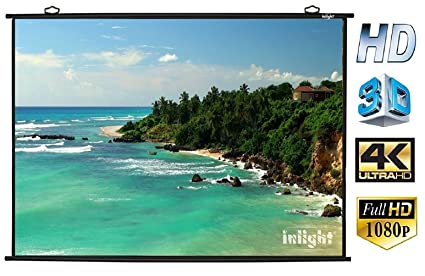 inlight map type projector screen 6wx4h amazon in electronics