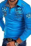 MT Styles Langarm Poloshirt NEWPORT T-Shirt R-0742