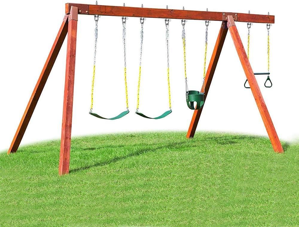 Wood and Steel Beam Porch Swing Sets Yoga Hammock Cair Punching Bag 1800LB Capacity Permanent Antirust Stainless Steel 304 SELEWARE Set of 2 180/° Heavy Duty Swing Hangers