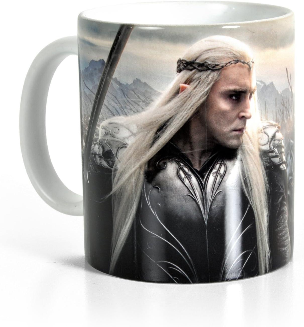 MasTazas The Hobbit Lee Pace Thranduil Tasse Mug