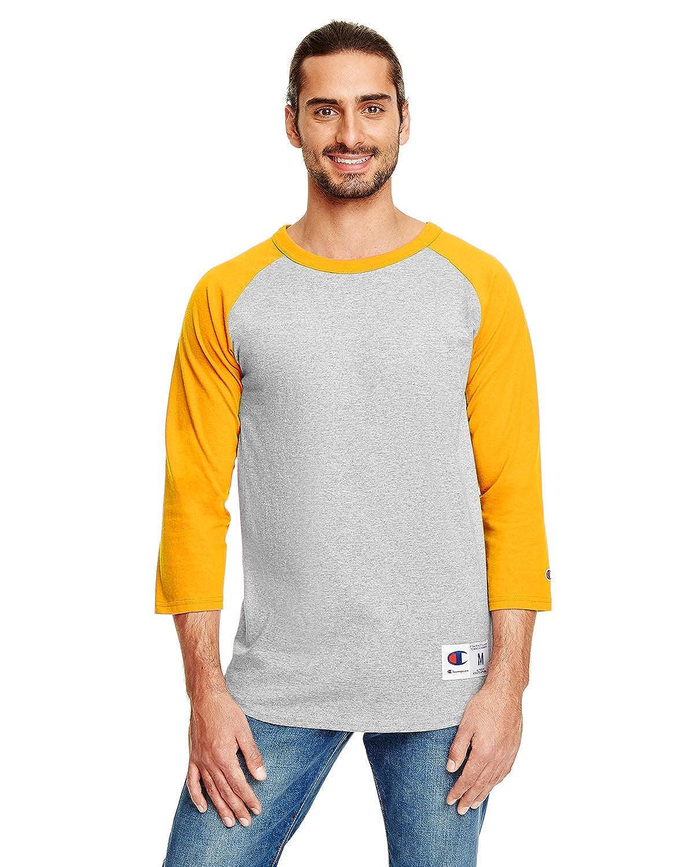 c611b72b Amazon.com: Champion Men's Raglan Baseball T-Shirt: Clothing