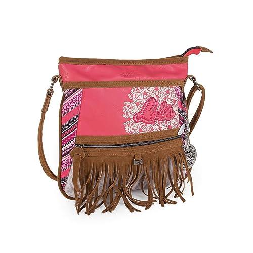 Bandolera es Apache Bolso 22462Color Lois FresaLoisAmazon f7yYIbg6v