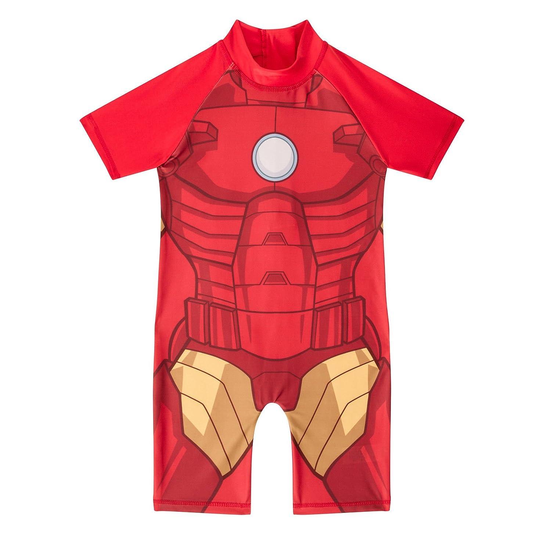 Disney Marvel Kids Boys One Piece Superhero Batman Hulk Sun Safe Swimsuits Swimwear 1 5 Yrs
