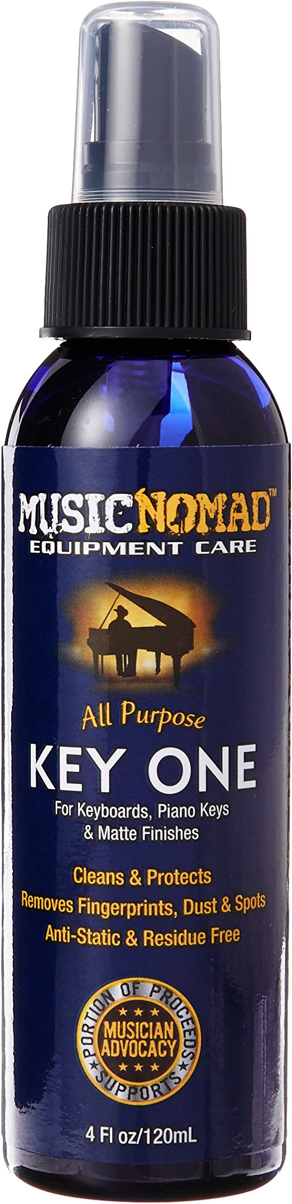 MusicNomad MN131 All Purpose Key One Cleaner
