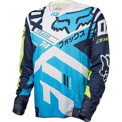 Fox Racing Demo Long Sleeve L//S Jersey Aqua